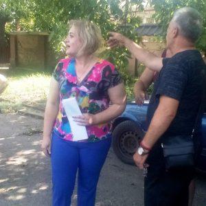 В прифронтовом с. Спартак состоялась встреча с жителями