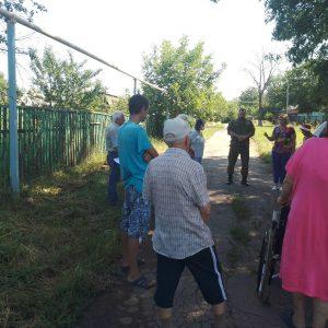 В поселке Каштановое состоялся сход граждан
