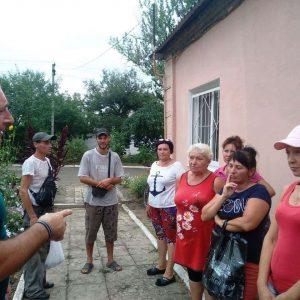 Сход граждан с жителями пос. Красный Партизан