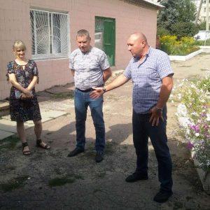 Сход граждан с жителями пгт. Верхнеторецкое и пос. Красный Партизан