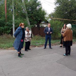 Сход граждан с жителями улицы Чкалова