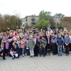 Празднование Международного дня мира в Ясиноватой
