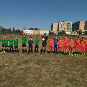 Победа футбольной команды «ДЮСШ г. Ясиноватая»