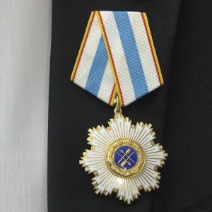 Владимир Бидёвка награждён орденом Дружбы Республики Южная Осетия