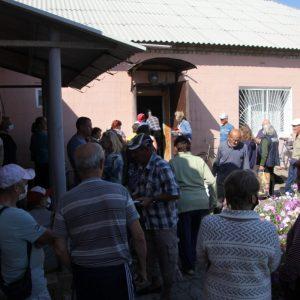 Гуманитарная помощь жителям Красного Партизана