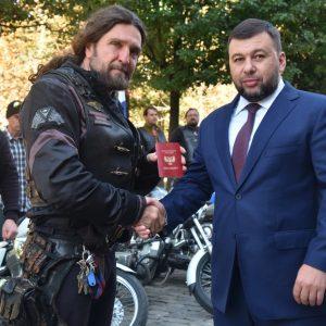 Президент Всероссийского мотоклуба «Ночные волки» стал гражданином ДНР