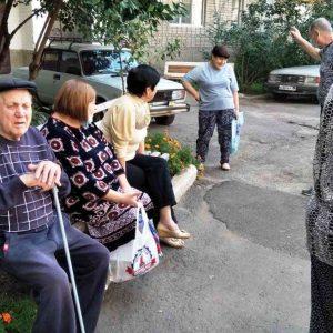 Сход граждан с жителями квартала 103, дом №14а
