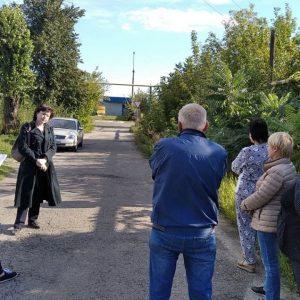 Сход граждан с жителями улицы Орджоникидзе,152