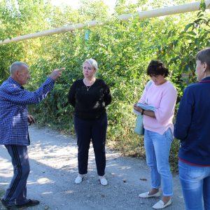Сход граждан с жителями улицы Островского