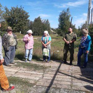 В селе Веселое состоялся сход граждан