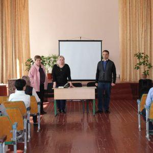 Встреча с трудовым коллективом школы №6