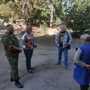 В посёлке Донецк Северный состоялся сход граждан