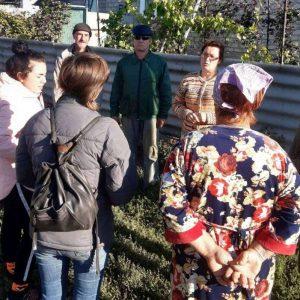 В поселке Минеральное состоялся сход граждан