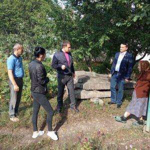 Встреча с жителями улицы Севастопольская