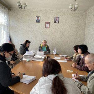 Заседание комиссии по предоставлению материальной помощи в денежном выражении