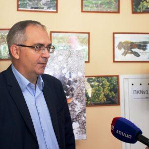 Владимир Бидёвка приветствовал участников международной конференции, посвящённой 95-летию «Хомутовской степи»