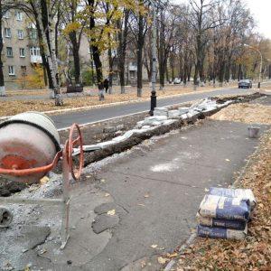 В Ясиноватой начато благоустройство парков и скверов