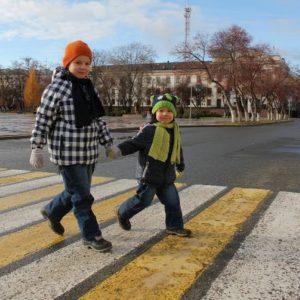 ГАИ призывает обеспечить безопасность детей на дорогах в период осенних школьных каникул