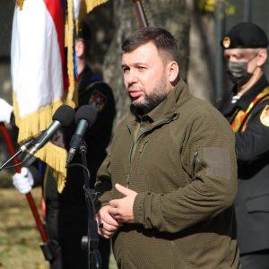 Денис Пушилин открыл в Донецке памятный знак в честь Арсена Павлова