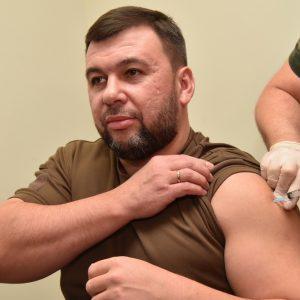 Денис Пушилин ревакцинировался от COVID-19