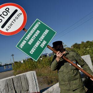 Таможни на границе ДНР и ЛНР больше нет, начался демонтаж первого поста