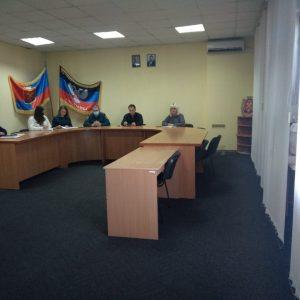 Заседание штаба по подготовке объектов жизнеобеспечения, социальной сферы и жилищного фонда к работе в осенне-зимний период