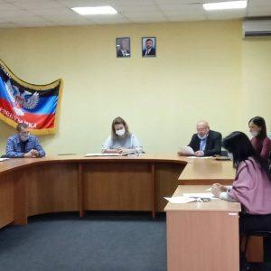 Заседание временной комиссии по муниципальному земельному контролю